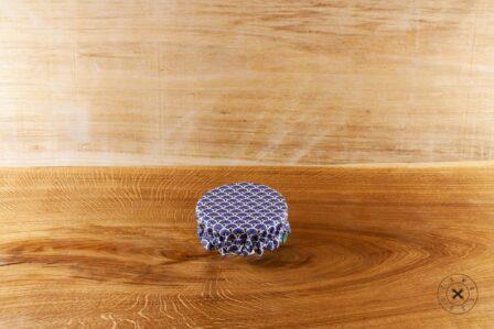 Tawachou - Création Zéro Déchets charlotte alimentaire reversible bleu s