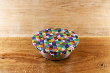 Tawachou - Création Zéro Déchets charlotte alimentaire reversible triangles l