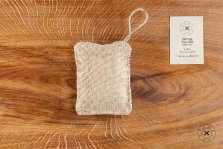Tawachou - Création Zéro Déchets eponge vaisselle eventail fushia