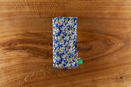Tawachou - Création Zéro Déchets essuie tout lavable bleu et or 3