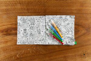 Livres à colorier Lavable