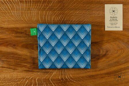 Tawachou - Création Zéro Déchets pochette a savon triangles 1