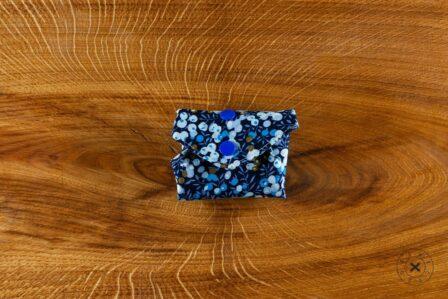 Tawachou - Création Zéro Déchets serviette hygienique lavable bleu 3