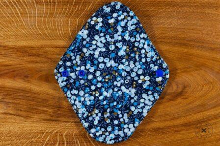 Tawachou - Création Zéro Déchets serviette hygienique lavable bleu