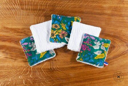 Tawachou - Création Zéro Déchets lingettes lavables jungle colore