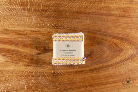 Tawachou - Création Zéro Déchets lingettes lavables pommes 2