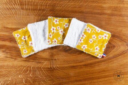 Tawachou - Création Zéro Déchets lingettes lavables printemps 2