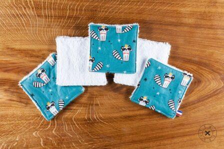 Tawachou - Création Zéro Déchets lingettes lavables ratons