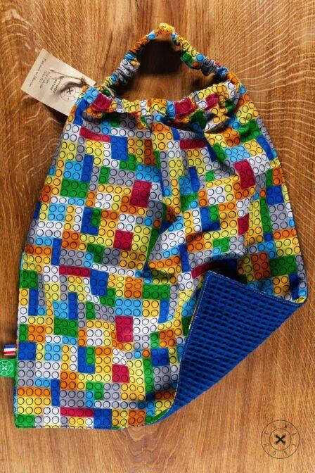 Tawachou - Création Zéro Déchets serviette cantine briques